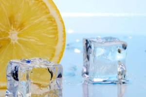 hielo y limon